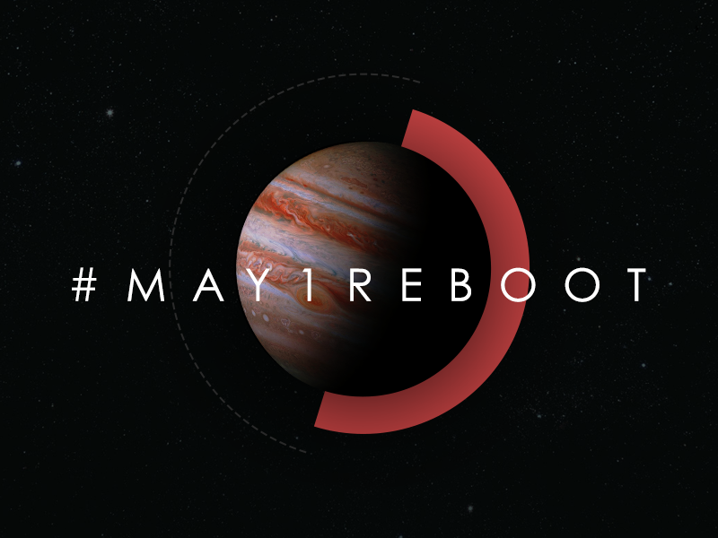 Designers, What Will You Do for May 1 Reboot?