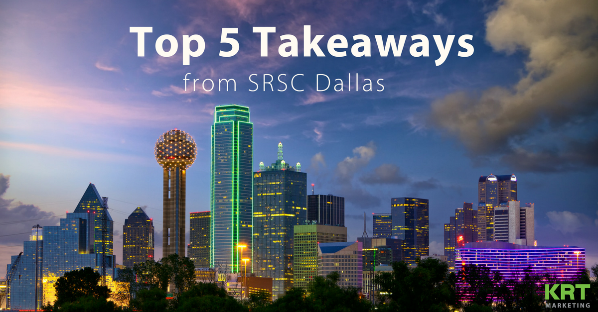 What I learned from Social Recruiting Strategies Conference (SRSC) – Dallas on Twitter