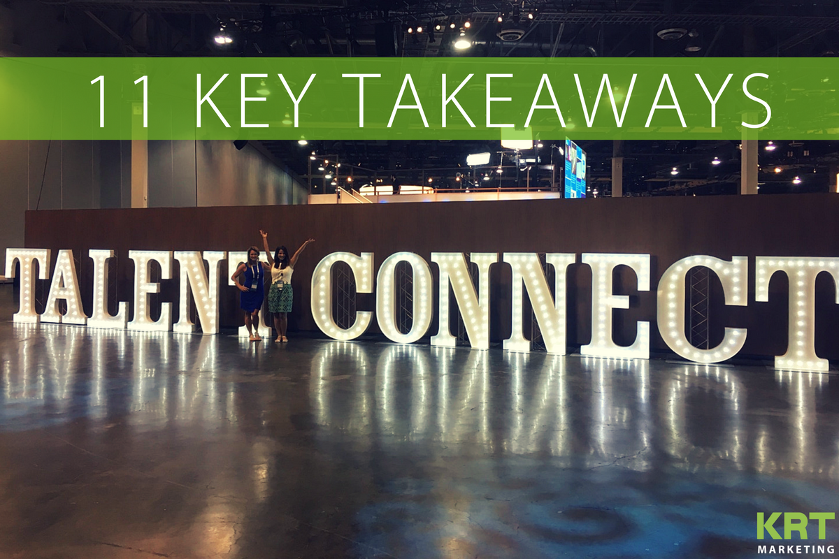 11 Key Takeaways from LinkedIn Talent Connect 2016