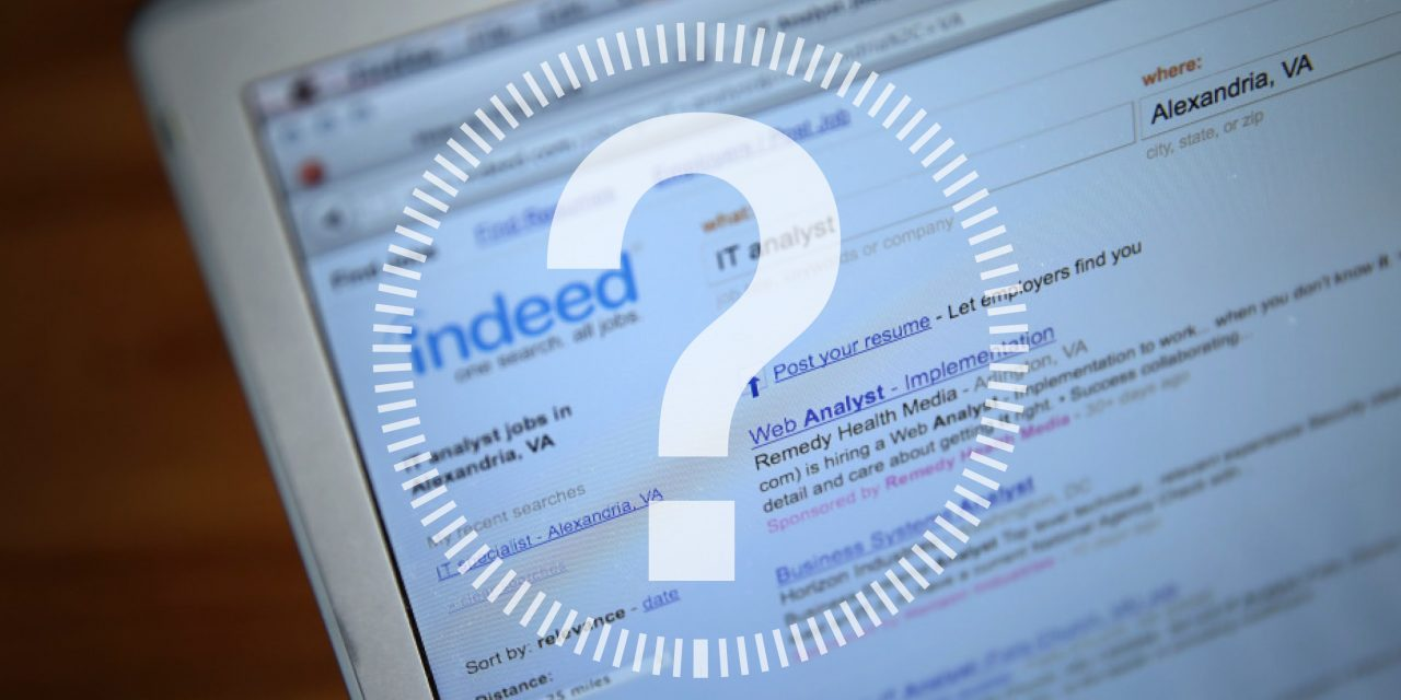 Why can't I find my Indeed job posting? - KRT Marketing