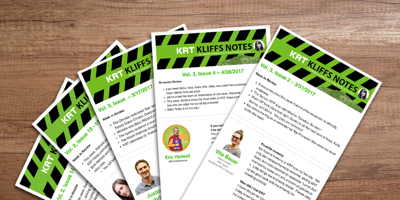 Office Newsletter | Internal Newsletter 4 Reasons Your Company Needs One